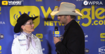 Dona Kay Rule Steals a Win in Round 2 of Barrel Racing