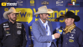 Chad Masters and Joseph Harrison Take Round 4 of Team Roping