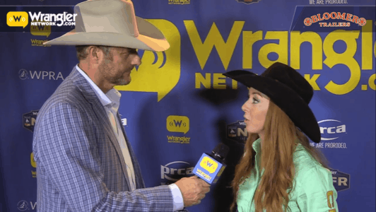 Bloomer Trailers Wnfr Barrels Emily Miller Takes Round 4
