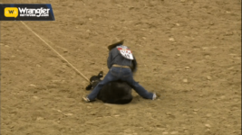 Ty Harris Wins Round 5 of Tie-Down Roping – Cavender's WNFR Now!