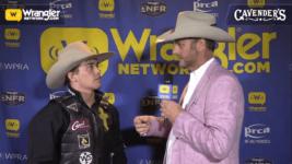 Daylon Swearingen Wins Round 5 of Bull Riding – Cavender's WNFR Now!