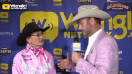 Bloomer Trailers WNFR Barrels: Dona Kay Rule Takes Round 5 of Barrel Racing