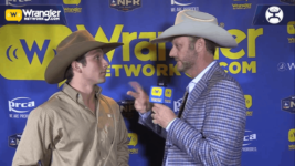 Ty Harris Takes Round 6 of Tie-Down Roping