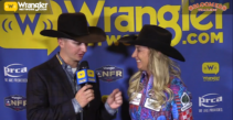 Amberleigh Moore Takes Round 6 of Barrel Racing