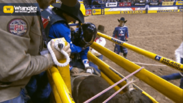 Stetson Wright Achieves Success in Round 8 of Bull Riding