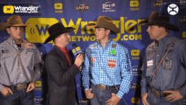 3-Way Tie in Round 8 of Tie-Down Roping