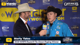 Marty Yates Wins Round 9 of Tie-Down Roping – Cavender's WNFR Now!