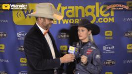 Bloomer Trailers Wrangler NFR Barrels: Stevi Hillman Takes Round 9 of Barrel Racing