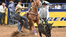 Shane Hanchey Wins Another Round at Wrangler NFR