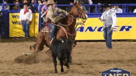 Ty Harris Notches Back-to-Back Wrangler WNFR Round Wins
