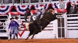 Moore Wins Nearly $6,000, Heads to Fort Worth's Semi-Finals Rodeo