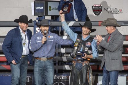 Toves Takes Top Spot At Denver Chute Out News