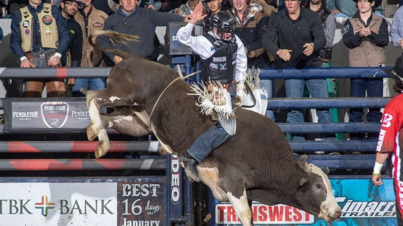 Campbell Finishes Second in Denver in Strong Start to PBR Run