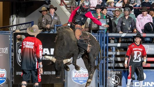 Red Bluff Dodge >> Melancon Goes 90 to Take Early Denver Chute out Lead | News