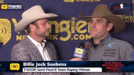 2020 FWSSR – Semi Finals-B, Tyler Wade-Billie Jack Saebens Team Roping