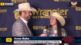 2020 FWSSR – Semi Finals-B, Anna Bahe Breakaway Roping