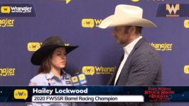 2020 FWSSR – Hailey Lockwood Barrel Racing Champion