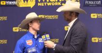 2020 FWSSR – Dawson Hay Saddle Bronc Champion