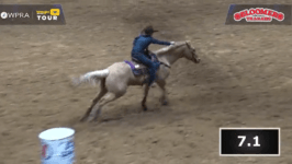 Jimmie Smith 2020 Dixie National Barrel Racing Winner