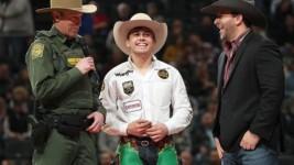 Swearingen Wins U.S. Border Patrol Invitational 15/15 Bucking Battle in St. Louis