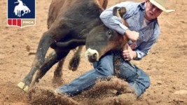 Hunter Cure Claims Steer Wrestling Crown in Jackson