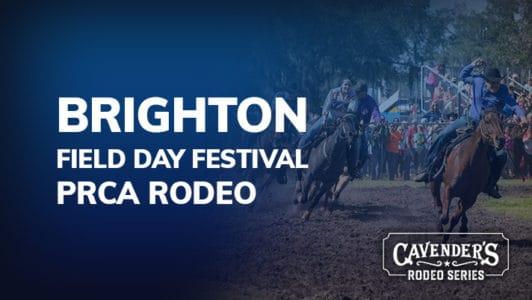 Brighton Field Day Rodeo Sunday February 16th 3 00pm