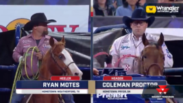 Proctor and Motes Start Title Defense in Team Roping