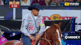 Shad Mayfield Takes Tie-Down Roping