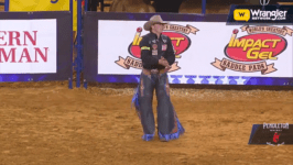 Wyatt Casper Leads Saddle Bronc Heading to Finals