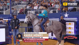Kassie Mowry Moves on to Barrel Racing Finals