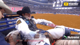 Kaycee Feild's 93 Point Ride Wins Bareback Riding