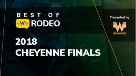 """Best of Rodeo: Nellie Miller and """"Sister"""" Deliver a Championship Run in the Wyoming Hail"""