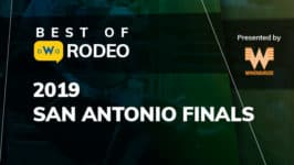 Best of Rodeo: Aaron Vosler Ties the Arena Record With a 3.0 Second Steer Wrestling Run