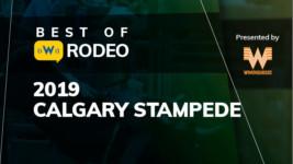 Calgary Stampede Rewind: Kimzey Cashes In