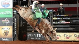 Swearingen Keeps up With Leme in Round 1 of PBR Cooper Tires Invitational, Presented by Ariat