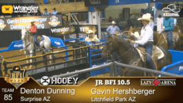 BFI Jr Champions of the 10.5 Roping