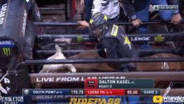 Dalton Kasel Conquers Heavy D for 86.25