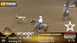 Berg & Noblitt Win 11.5 Wrangler National Patriot