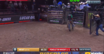 Boudreaux Campbell Rides Incredi-Bull at PBR Team Challenge