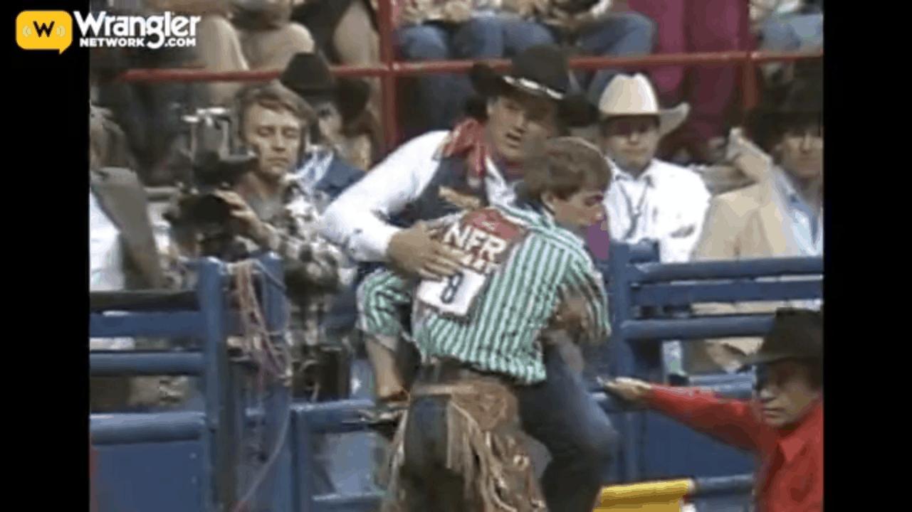Lane Frost 1987 WNFR Win