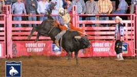 Trevor Kastner Tops Field at Dodge City Xtreme Bulls