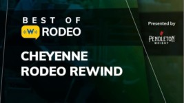"""Riding Mini Broncs at the 2019 Cheyenne Frontier Days is """"No Big Deal"""""""