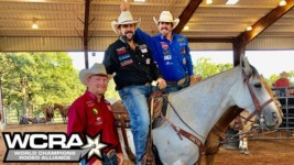 WCRA Stampede at the E Bulldoggers on the Bright Side of Rodeoing in 2020