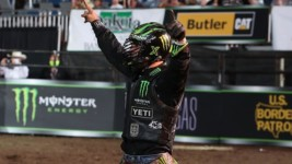 Leme Rides Good Night Robicheaux for $10,000 and Ends the Bull's Buckoff Streak