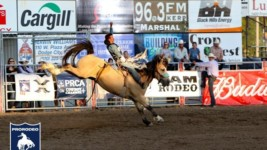 Orin Larsen Wins Dodge City (Kan.) Roundup Rodeo in Record-Setting Fashion
