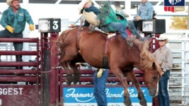 Jesse Pope Wins Kansas' Biggest Rodeo