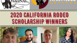 California Rodeo Salinas Announces 2020 Scholarship Recipients