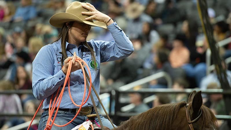WCRA and PBR Announces Top Four Leaderboard Athletes Advancing to the Main Event of the Historic Women's Rodeo World Championship