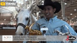 Junior Nogueira Praises his Phenomenal Horse Hali