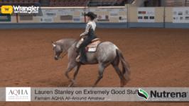 Lauren Stanley Crowned AQHA Farnam All-Around Amateur